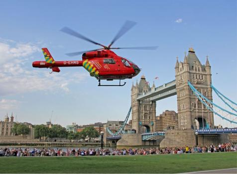 Landing at Tower Hill