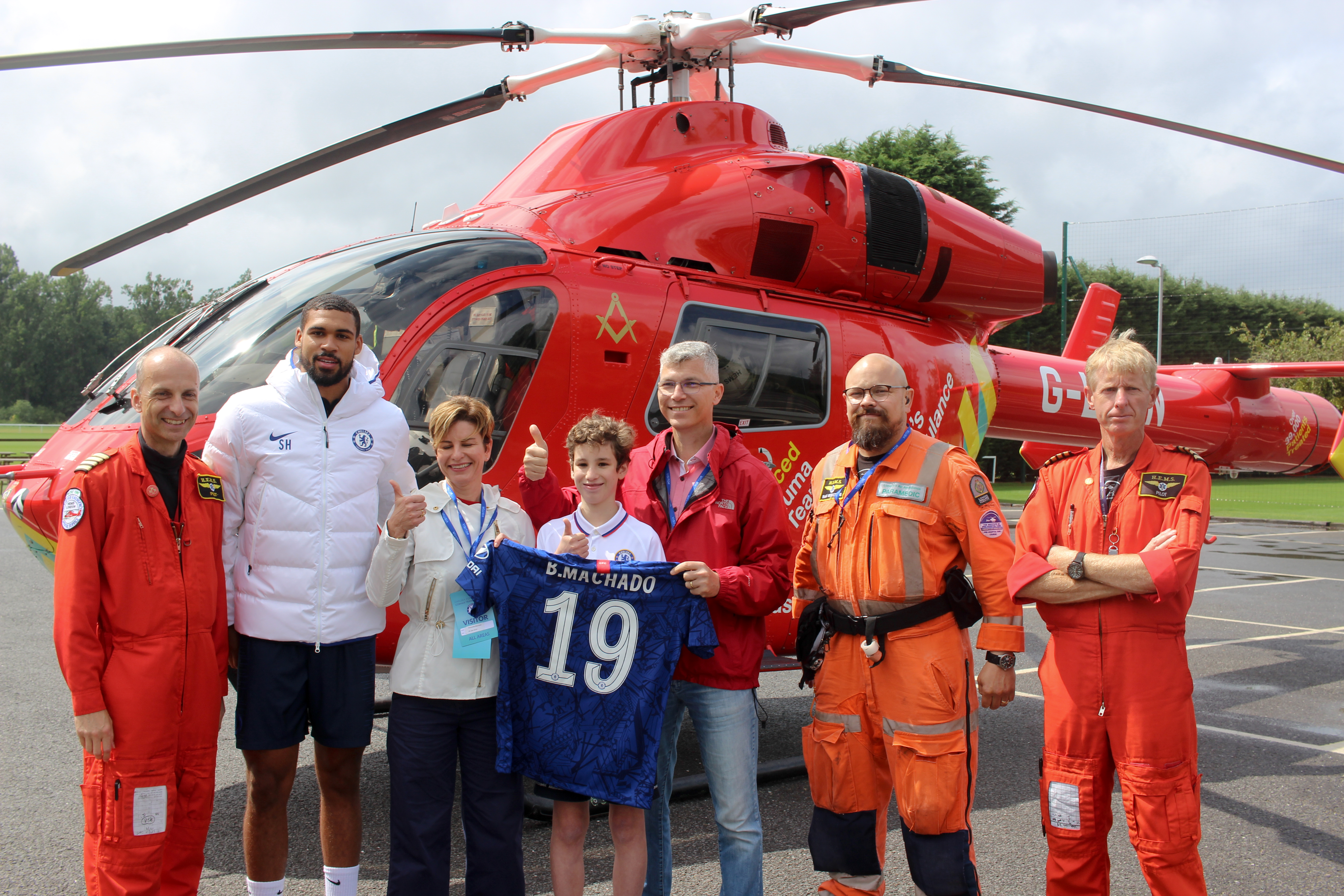 London Football Clubs join forces to back our life-saving charity