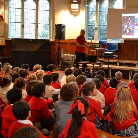 abercorn school assembly