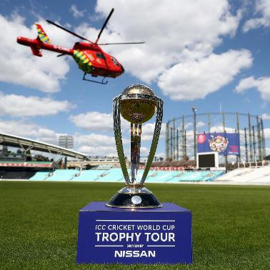 The Cricket World Cup and our helicopter